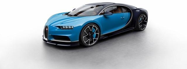 Bugatti Chiron front 3/4 view