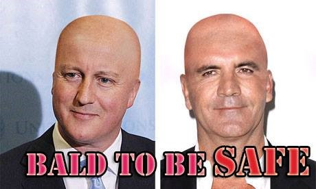 The Bald to be Safe Campaign Poster
