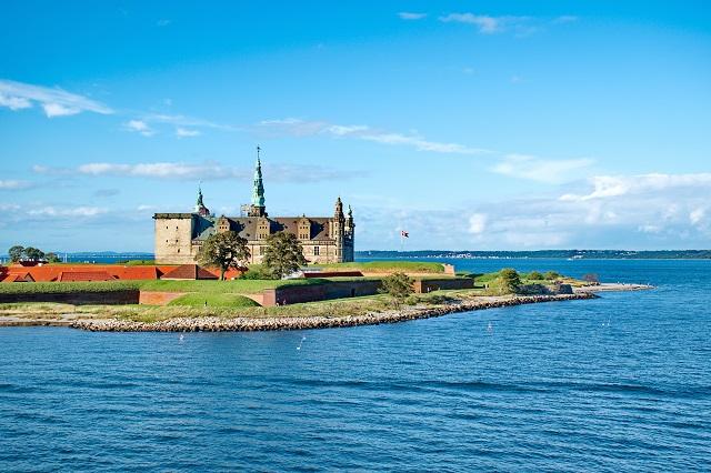 Castle of Kronborg, home of Shakespeare's Hamlet
