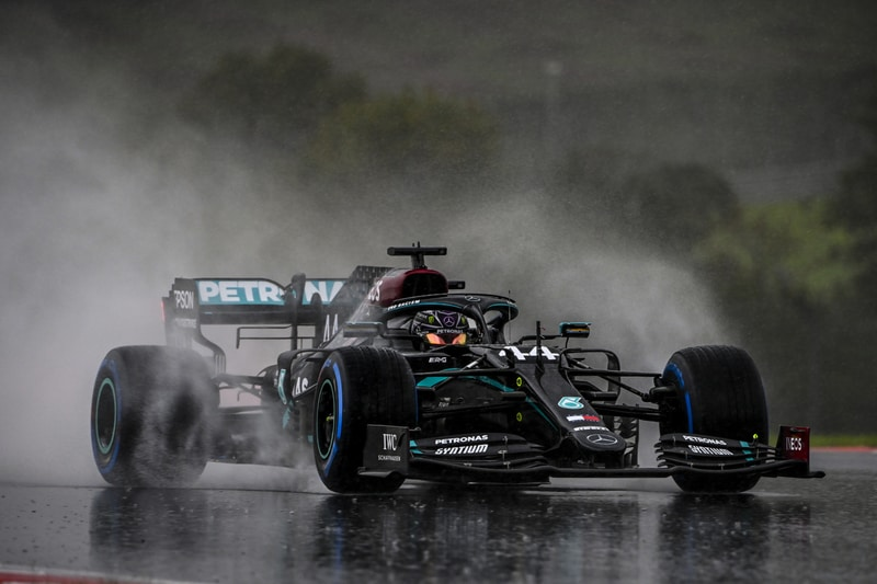 Hamilton winning the 2020 F1 Turkish Grand Prix